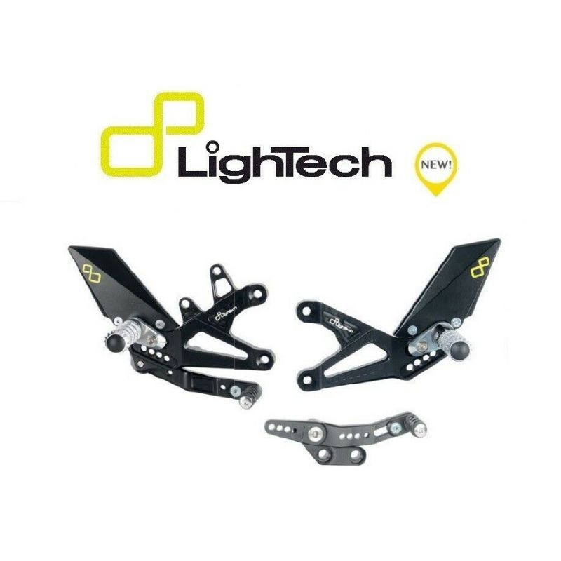 Lightech Adjustable Footrests with Fixed Footrests