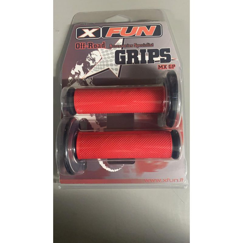 Progrip red grips