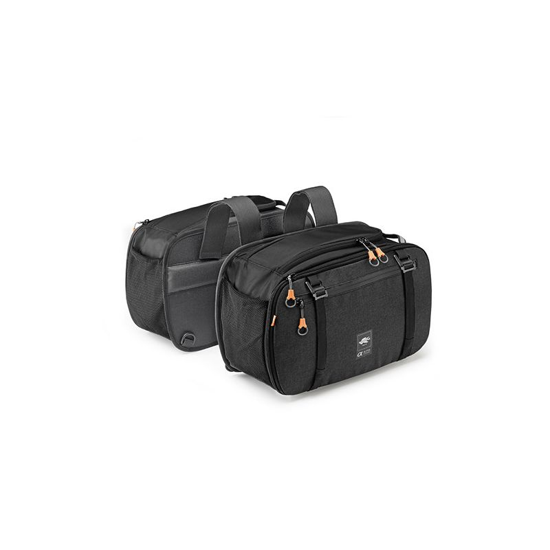 Kappa Pair of extendable side bags