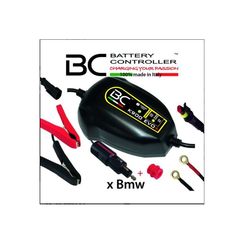 BC Battery K900 evo + charge maintainer