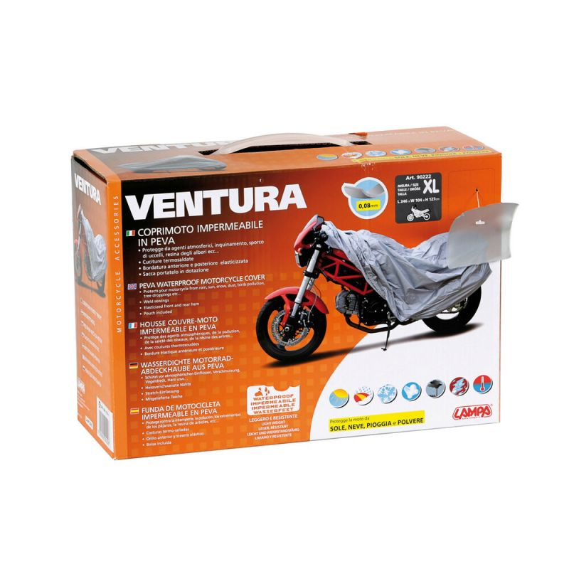 Lampa Ventura motorcycle cover size XL